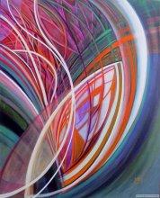 """Acrylic on canvas, 30""""x24"""" - 2010."""