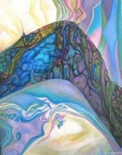 """Acrylic on canvas, 28""""x22"""" - 2010."""