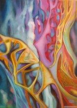 """Acrylic on canvas, 24""""/18"""" - 2010."""